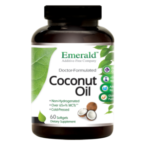 Emerald Coconut Oil (60) Bottle