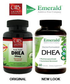 DHEA 50mg Side-by-Side