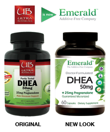 DHEA Pregnenolone Side-by-Side